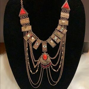 Statement Gold Necklace